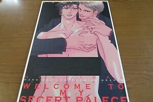 Hannibal-yaoi-Doujinshi-Lecter-Will-B5-42pages-WELCOME-TO-MY-SECRET-PALECE