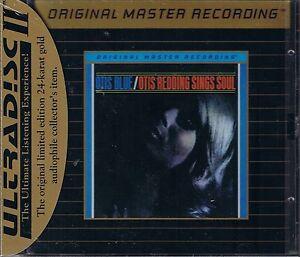 Redding-Otis-Blue-Sings-Soul-MFSL-GOLD-CD-Neu-OVP-Sealed-UDCD-575-mit-J-Card