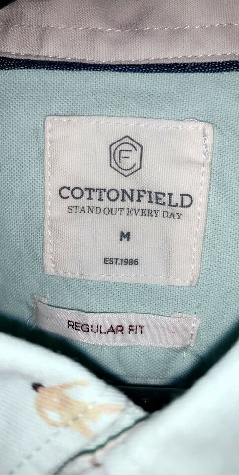 Skjorte, Cottonfield, str. M