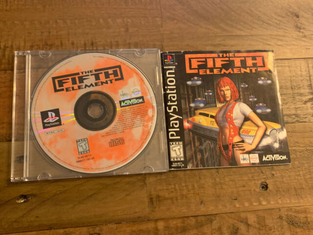The Fifth Element 5th PS1 Black Label Tested - Disc and Manual Only