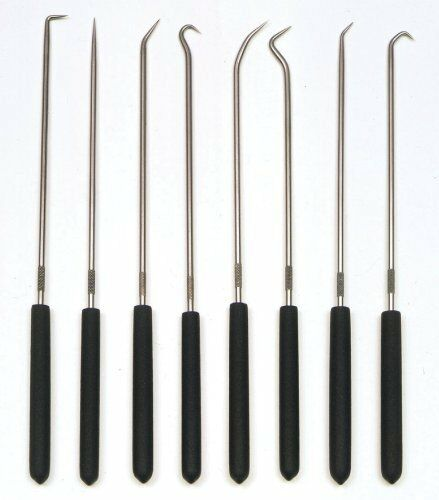 chp8l CHP8-L 8-piece 9-3//4 Long Hook And Pick Set Ullman Devices Corp