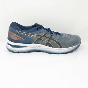 Asics-Mens-Gel-Nimbus-22-1011A680-Blue-Gray-Running-Shoes-Lace-Up-Size-11