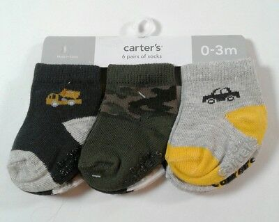 2T-3T 2214 Girls Cat /& Jack 6 Pack Crew Socks Select Size 6-12M,12-24M