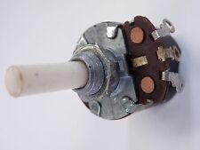 24mm AB Potentiometer 500K Lin 6mm Spindle DPST Switch with Nut Vintage CD20