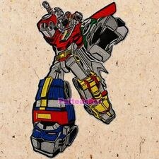 Voltron Big Patch Cartoon Robot Defender of the Universe Lions Ver. Embroidered