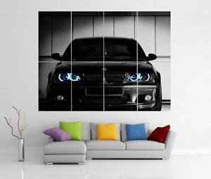 Bmw Club Georgia Car Giant Wall Art Print Poster H37 Ebay