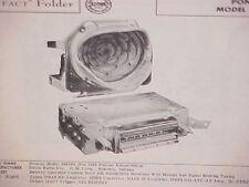 1956 PONTIAC STAR CHIEF CONVERTIBLE CHIEFTAIN CATALINA AM RADIO SERVICE MANUAL
