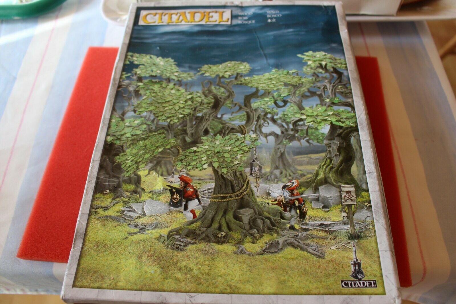 Games Workshop Warhammer Fantasy Citadel Citadel Wood Scenery Forest Terrain NIB New GW