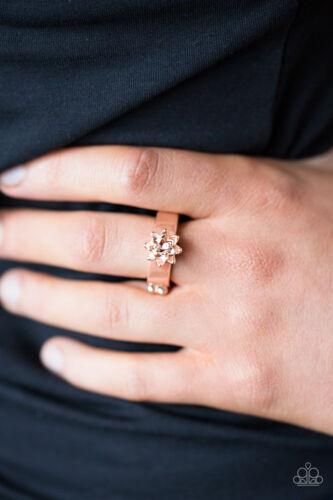 Autumn Gardens Rose Gold Paparazzi Ring