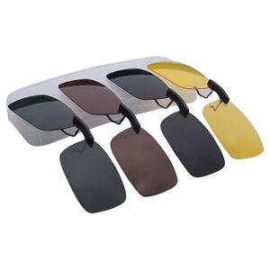 Sonnenbrille-Brille-Aufsatz-Clip-On-Polbrille-Sonnenbrillenaufsatz-Zubehaer