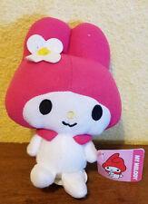 "Sanrio My Mellody Wearing Pink Hat W/Flower stuffed/plush doll - 6"" w/tag"