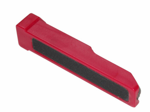 Double Sided Snooker Cue Tip Shaper File Red