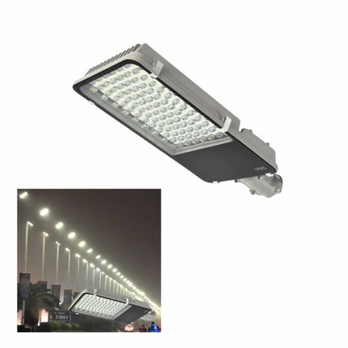 100W Industrial LED Street Light Road Floodlight Pathway Outdoor Security