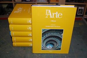 Utet-Gianni-Carlo-Sciolla-L-039-ARTE-2002-6-volumi
