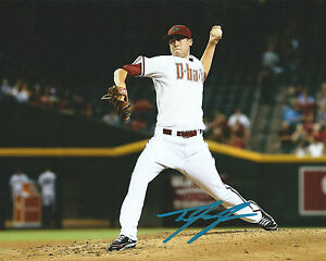 GFA-Arizona-Diamondbacks-TYLER-SKAGGS-Signed-8x10-Photo-T3-COA-PROOF