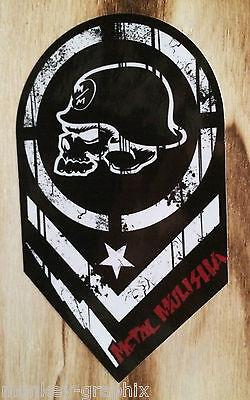 Oldschool Sticker Metal Wappen / Aufkleber / Stickerbomb / OEM JDM Ratte 022