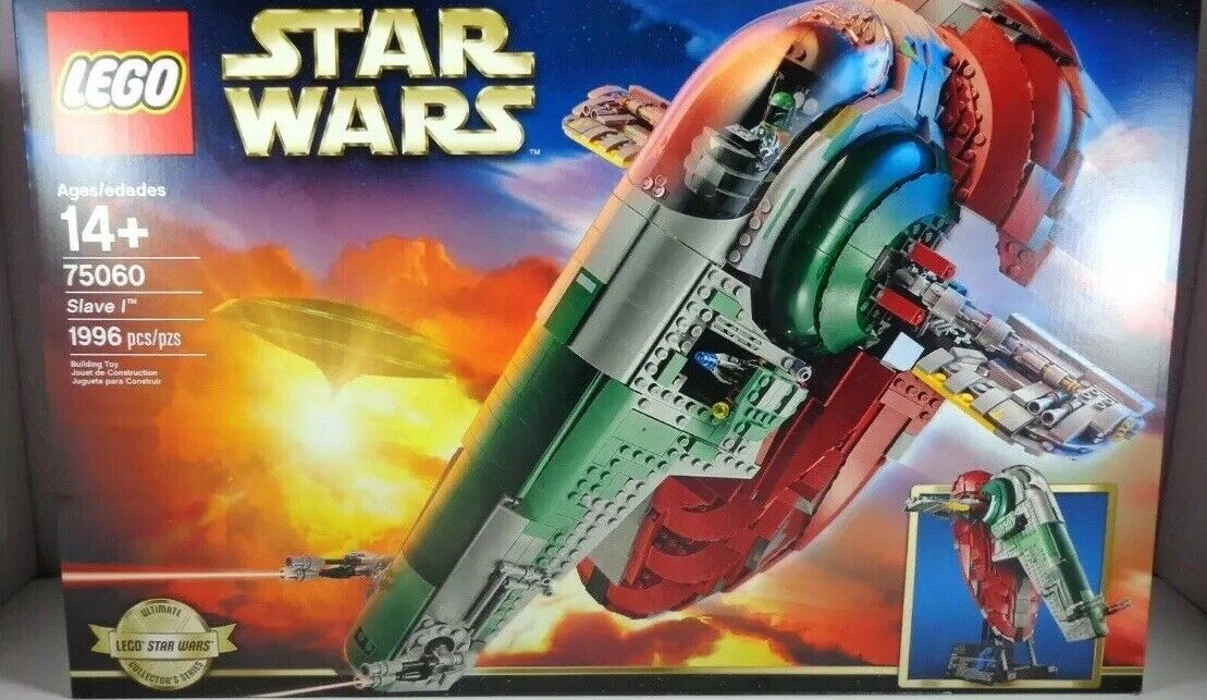 LEGO estrella guerras 75060  Slave I Ultimate Collector's Series MISB    Retirosso Set    design semplice e generoso