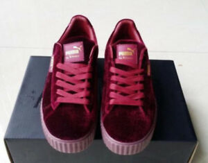 New-Velvet-Puma-Fenty-PUMA-Creeper-Rihanna-x-Pack-Trainer-Sneaker-Shoes