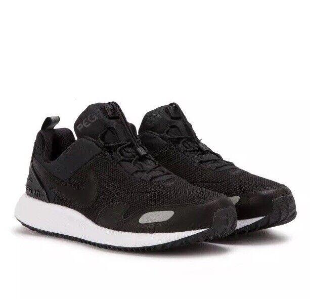 Nike Air Pegasus A T PRM Size UK 6 EUR 40 Black Black-White