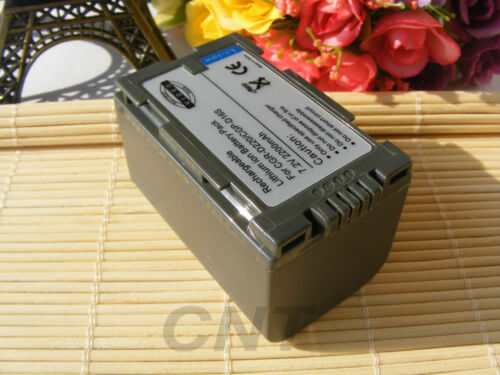 7.2V 2200mAh Batería//Cargador para Panasonic VDR-M10 PV-DBP8 PV-DBP8A PV-DAC11
