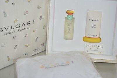 New Bvlgari Petits Et Mamans 3 Pc Eau De Toilette Body Lotion Baby Changing Mat Ebay