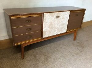vintage 60s furniture. Image Is Loading Vintage-60s-Retro-Mid-Century-Retro-Formica-Sideboard Vintage 60s Furniture