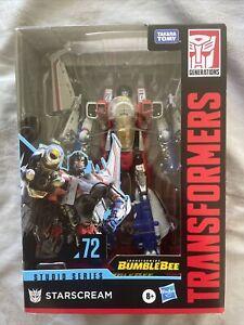 Transformers Studio Series 72 Voyager Transformers: Bumblebee Starscream