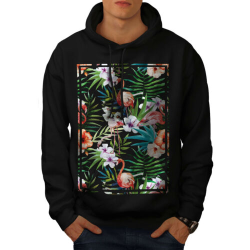 Wellcoda New Décontracté Noir Sweatshirt hommess capucheOrnehommest Sweat à T3FKc1Jl