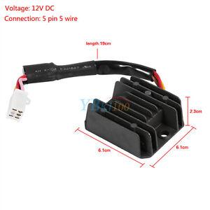 universal 12v 5 pin wire voltage regulator rectifier for ... 5 pin rectifier regulator wiring diagram 20 hp kohler rectifier regulator wiring diagram