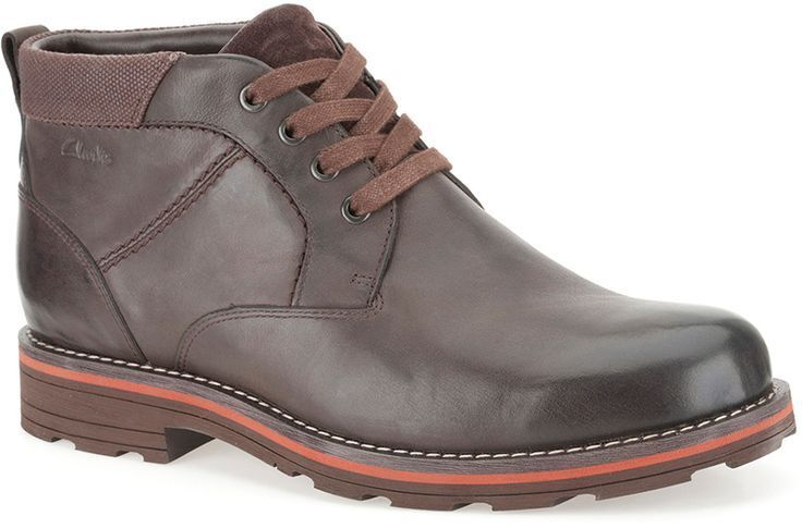 Clarks Mens Naylor Mid Gtx Black Lea , Active Air , Hiking Boot G
