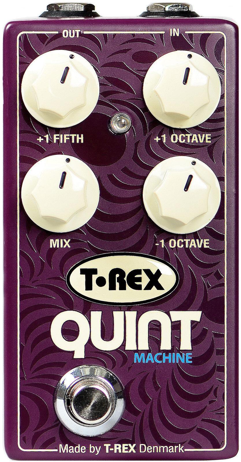 T-Rex- Quint Ma ne octaves & quintes pour guitare ou pédalier effet basse-Neuf