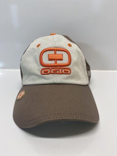 Ogio Hat Orange beige and brown