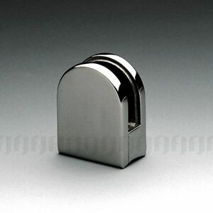 STAINLESS-STEEL-316-D-SHAPE-GLASS-CLAMP-FOR-8-10mm-GLASS-ROUND-BACK-2-034-POST