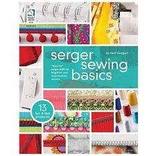 SERGER SEWING BASICS - CAROL ZENTGRAF (PAPERBACK) NEW
