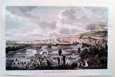 PRISE DE NAPLES, NAPOLEON, CARLE VERNET, ITALIE, EAU-FORTE c.1840