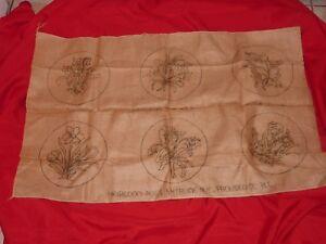 Heirloom-Primitive-Floral-Rug-Hooking-Pattern-6-9-034-Circular-Mats-E-M8-12