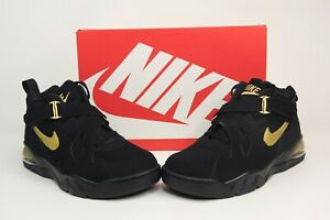 Details about Nike Air Force Max CB Black Metallic Gold Basketball Shoes AJ7922 001 Mens SZ 13