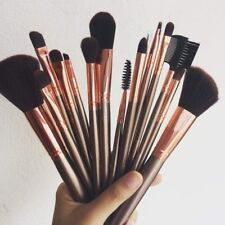 d69a41ec11de3 AUTHENTIC BH Cosmetics 15 Piece ROSE GOLD Brush Set + Quilted Brush Case NEW