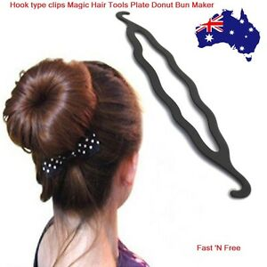 MAGIC BEAUTY TWIST HAIR BUN STYLING TOOLS MAKER BRAID CLIP ...