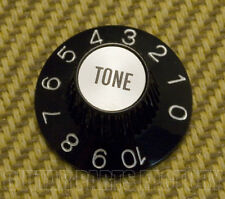 SG-Style Tone universal Poti-knopf mit Ziffern schwarz//chrome göldo Bell Knob