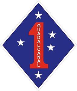 USMC-Marine-Corps-1st-Marine-Division-Decal-Sticker