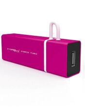 MIPOW Power Tube 3000 Rose Batterie 3000mAh pour iPhone et iPod