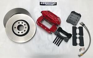 Vauxhall-Astra-MK5-VXR-BREMBO-TAPAS-FRENO-Zafira-B-321MM-Kit-de-actualizacion