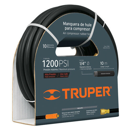 TRUPER MAN-AP-10-1 2 Hose for high pressure, 10 meters, 1 2 '