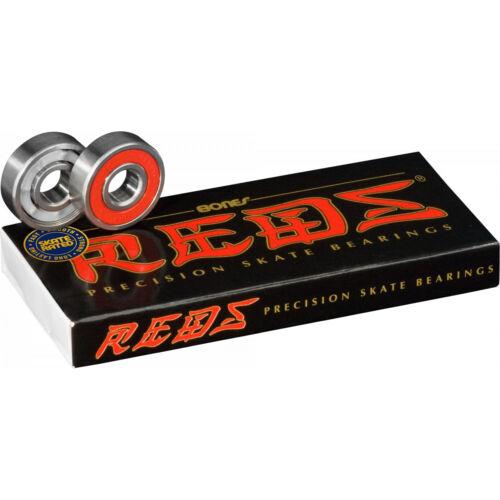 OJ III Skateboard Wheels Mini Super Juice Black 55mm 78A Bones Reds Bearings