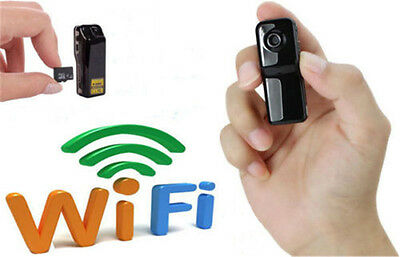 Portable WIFI/IP Wireless Spy Camera RC Surveillance Camera For Android IOS PC
