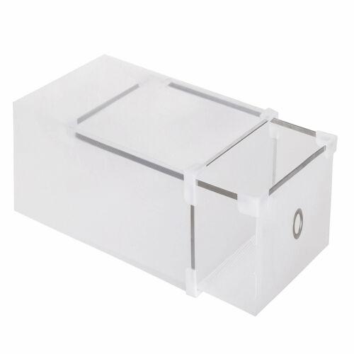 SPRINGOS Schuhkarton Aufbewahrungsbox Stapelbox Schuhbox Schuhaufbewahrung