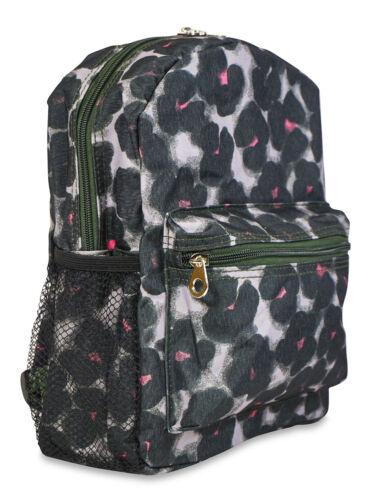 ... Jenzys Girls Cheetah Animal Print Mini Toddler Backpack Bag For  Preschool 8146af8f8bed2