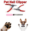 Grooming-Tools-Pet-Nail-Toe-Claw-Clippers-Scissors-Dog-Cat-File-Trimmer-Cutter miniature 1