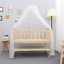 BABY-BED-SIDE-CRIB-NURSERY-NEXT-TO-MUM-NEXT-BED-FROM-BIRTH-COT-MATTRESS thumbnail 4